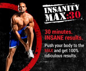 Insanity Max 30 - zillafitness