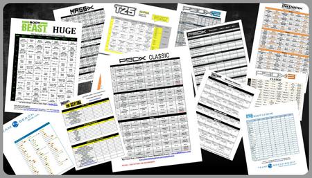 Body Beast Workout Sheets zillafitness – Beast Workout Sheet