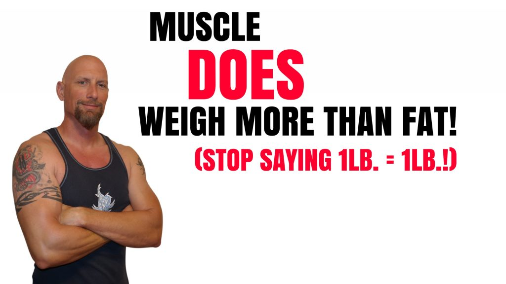 Does Muscle Weigh More Than Fat?